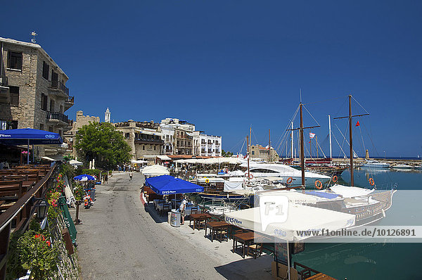 Port of Girne  Keryneia  Northern Cyprus  Cyprus  Europe