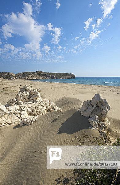 Sandstrand von Patara  Südwestküste  Türkei  Asien