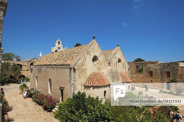 Kloster Moni Arkadi  Kreta  Griechenland  Europa