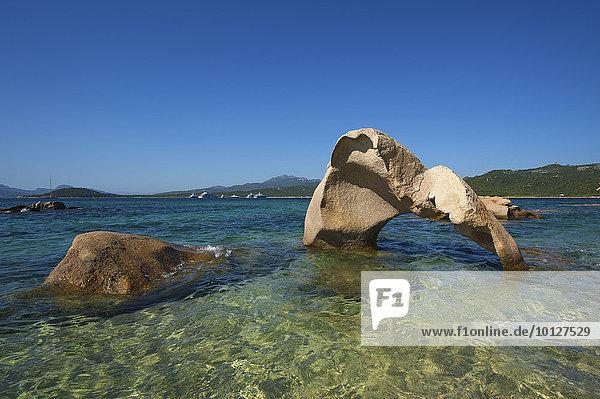 Bucht Cala di Volpe  Costa Smeralda  Sardinien  Italien  Europa