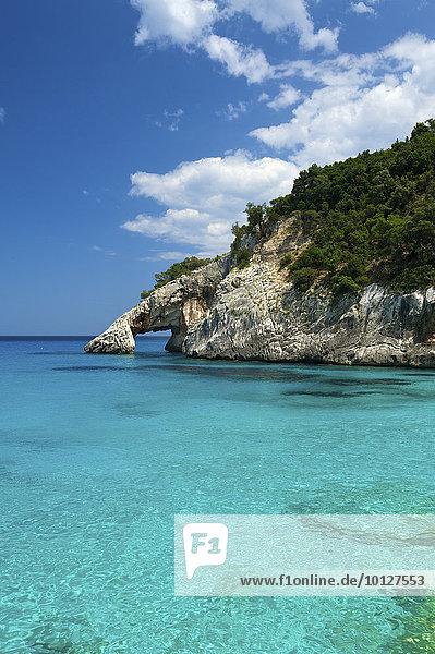 Bucht Cala Goloritze  Golfo di Orosei  Parco Nazionale del Gennargentu e del Golfo di Orosei  Sardinien  Italien  Europa