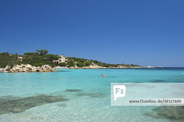 Capriccioli Strand  Costa Smeralda  Sardinien  Italien  Europa