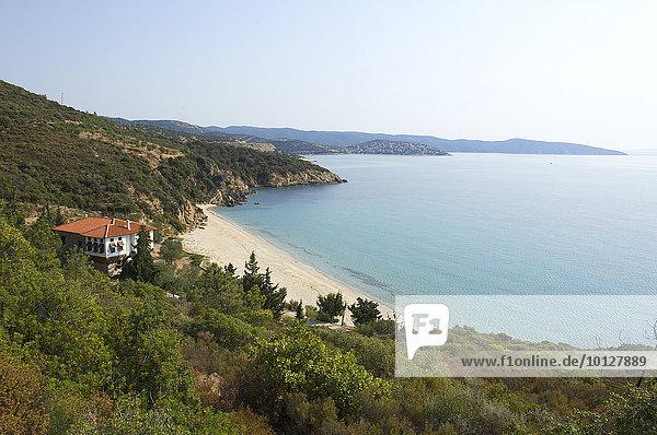 Küste  Pyrgadikia  Sithonia  Chalkidiki  Griechenland  Europa