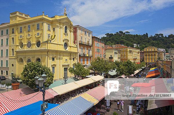 Place Charles  Altstadt  Nizza  Côte d?Azur  Département Alpes-Maritimes  Provence-Alpes-Côte d?Azur  Frankreich  Europa