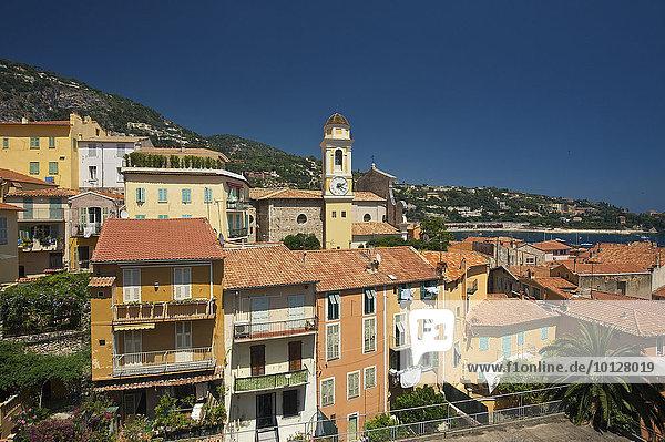 Altstadt von Villefranche-sur-Mer  Villefranche-sur-Mer  Côte d?Azur  Département Alpes-Maritimes  Provence-Alpes-Côte d?Azur  Frankreich  Europa