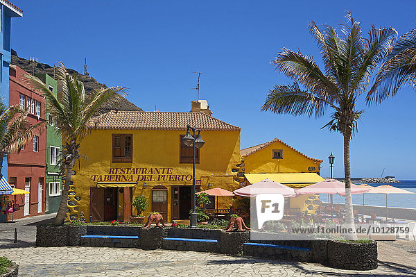 Taberna del Puerto  Puerto de Tazacorte  La Palma  Kanarische Inseln  Spanien  Europa