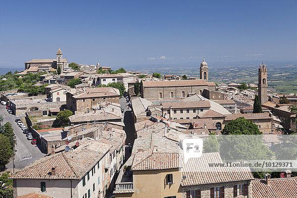 Montalcino  Toskana  Provinz Siena  Italien  Europa