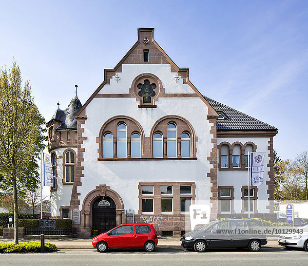Altes Amtsgericht  Borken  Münsterland  Nordrhein-Westfalen  Deutschland  Europa