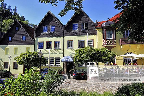 Herrmann's Posthotel  Restaurant und Hotel des Sternekoch Alexander Herrmann  Wirsberg  Landkreis Kulmbach  Oberfranken  Bayern  Deutschland  Europa