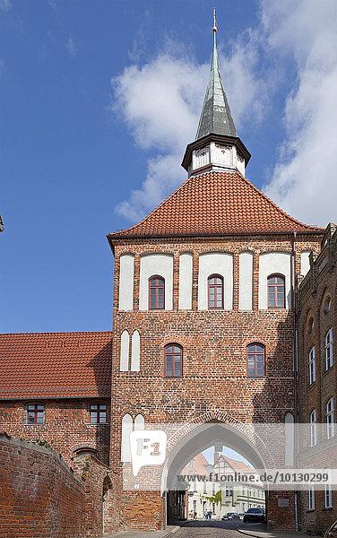 Kütertor  Stralsund  Mecklenburg-Vorpommern  Deutschland  Europa