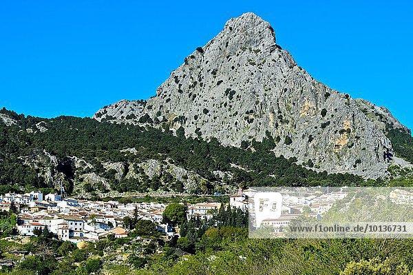 weiß Dorf Andalusien Grazalema Spanien