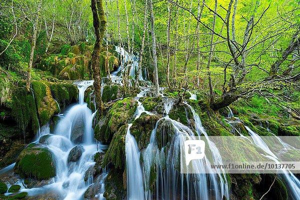 Europa Landschaft Alava Spanien Baskenland