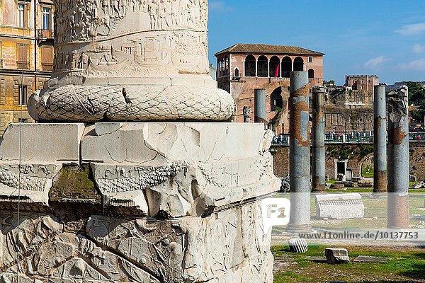 Rom Hauptstadt Europa Kaiserforen Italien
