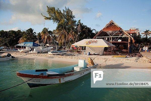 Strand Boot Mexiko Mittelamerika Cancun Isla Mujeres Quintana Roo