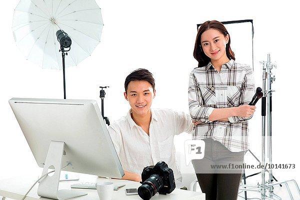 Portrait of photographer and designer