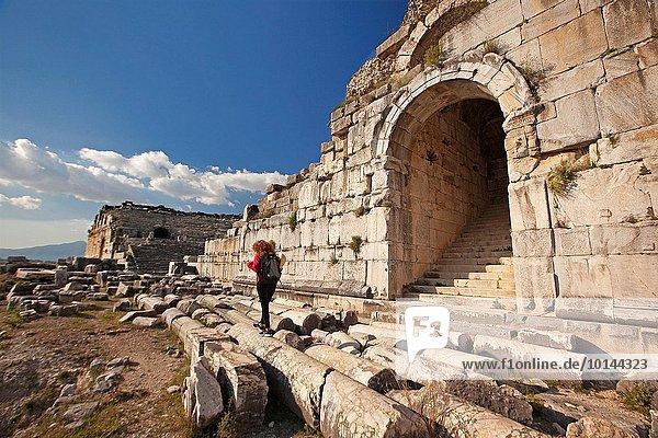 Europa Tourist Ruine antik Türkei
