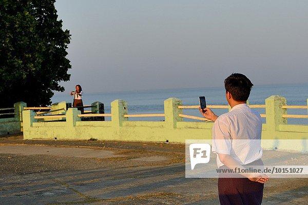 Aussichtspunkt Myanmar
