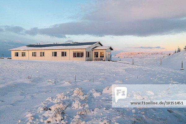 Winter Gästesuite Island Selfoss