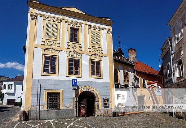 Stadt Geschichte Tschechische Republik Tschechien Böhmen alt