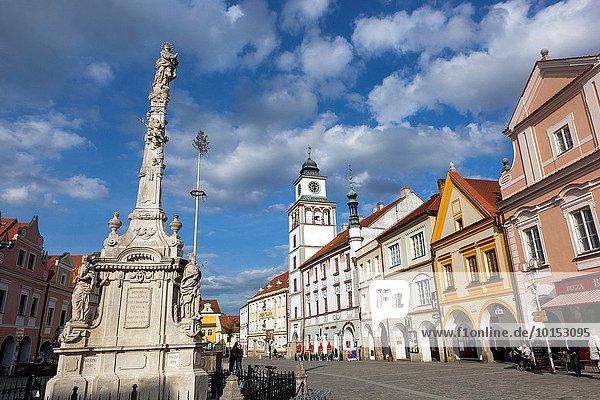 Rathaus Tschechische Republik Tschechien Stadthalle Trebon