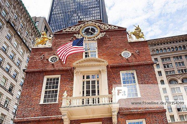 Vereinigte Staaten von Amerika USA Boston Massachusetts alt