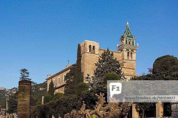 cartuja de Valldemosa  siglo XV  Mallorca  balearic islands  spain  europe.