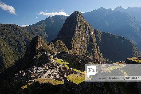 Heiligkeit Inka Peru Südamerika