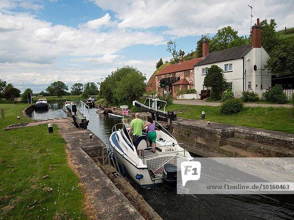 britisch aufwärts Fluss Türschloss Schloss Schlösser Redhill Leicestershire