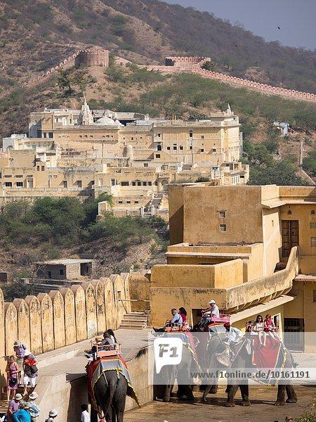 Tourist Indien Jaipur Rajasthan