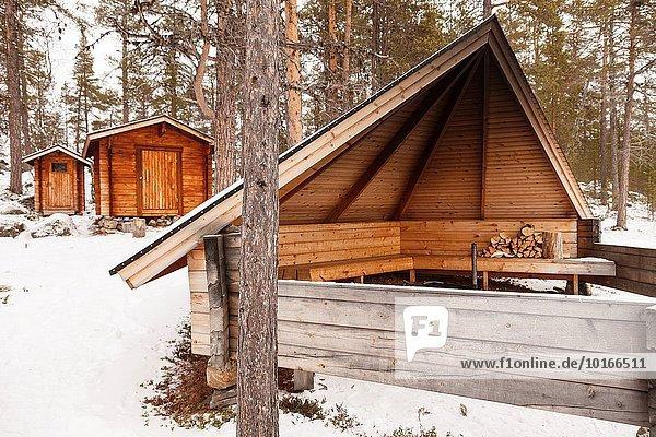 Spur Europa See Finnland Lappland