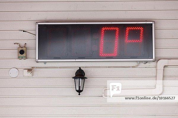 Europa Thermometer Finnland Lappland
