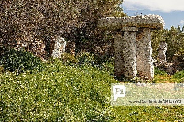 Europa Insel Beschluss Menorca Spanien