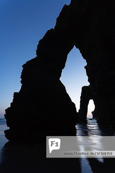 The Cathedrals beach. Lugo provence. Galicia. Spain. Europe.