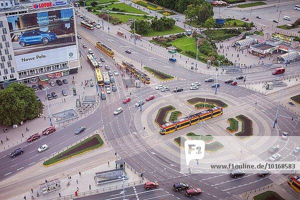 Warschau Hauptstadt Ecke Ecken Straße Polen