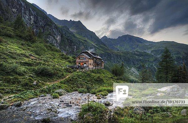 Gollinghütte mountain hut  Rohrmoos-Untertal  Schladming Tauern  Styria  Austria  Europe