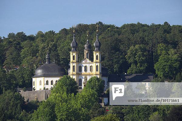 Die Wallfahrtskirche St. Maria  das Käppele  Würzburg  Unterfranken  Bayern  Deutschland  Europa