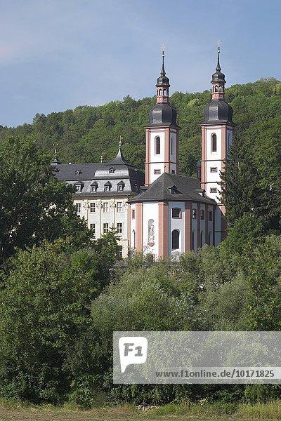 Kloster Oberzell  Zell  Unterfranken  Bayern  Deutschland  Europa