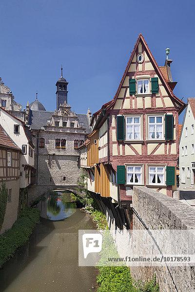 Museum Malerwinkelhaus am Maintor  Marktbreit  Unterfranken  Bayern  Deutschland  Europa