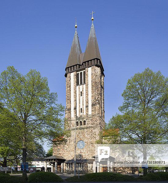 Katholische Pfarrkirche Liebfrauen  Hamm  Westfalen  Nordrhein-Westfalen  Deutschland  Europa
