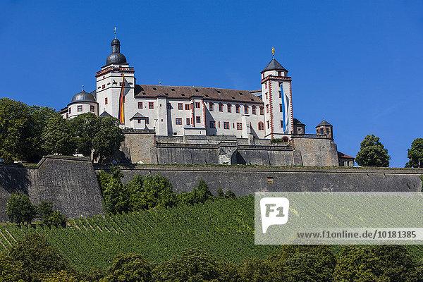 Festung Marienberg  Maintal  Franken  Bayern  Deutschland  Europa