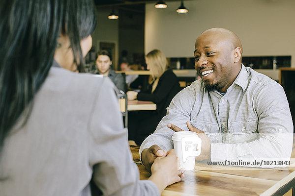 sprechen halten Cafe