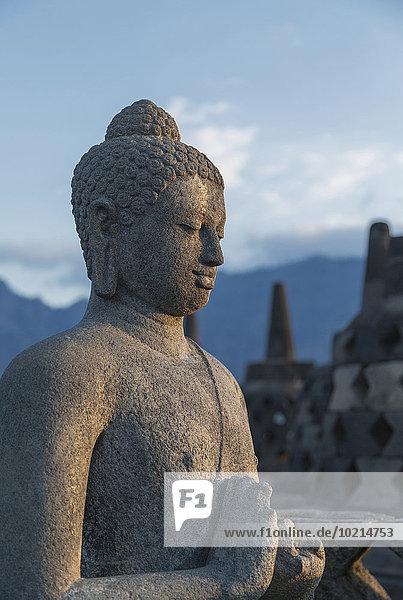 Statue Borobudur Buddha Indonesien