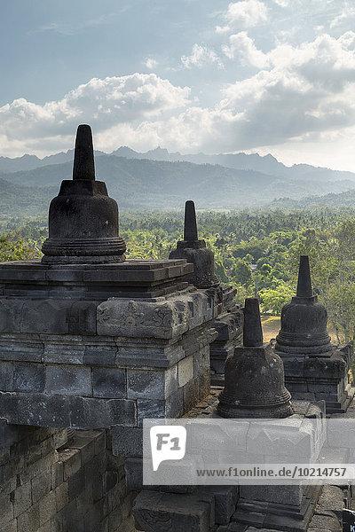 Kirchturm Borobudur Indonesien