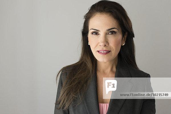 Geschäftsfrau ernst Hispanier Close-up close-ups close up close ups