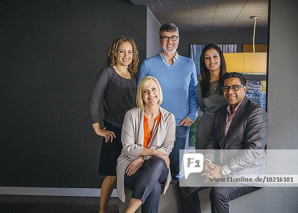 Mensch Büro Menschen lächeln Business Mensch,Büro,Menschen,lächeln,Business