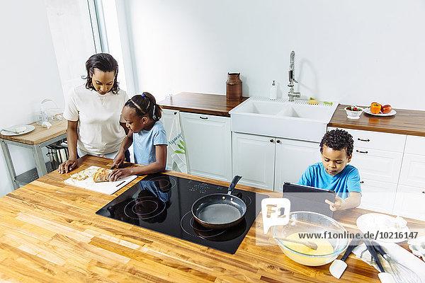 Zusammenhalt kochen Küche Frühstück