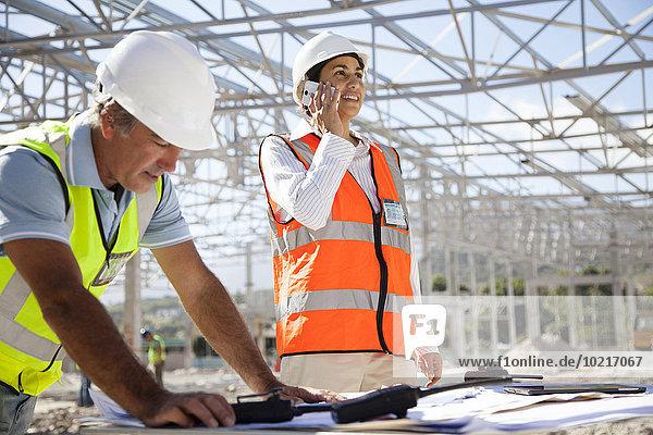 bauen arbeiten Architekt