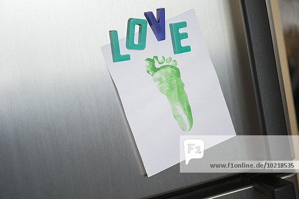 Liebe Close-up Magnet Kühlschrank Fußabdruck Liebe,Close-up,Magnet,Kühlschrank,Fußabdruck