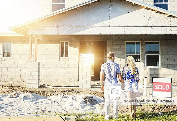 Europäer Bewunderung Eigentumswohnung neues Zuhause