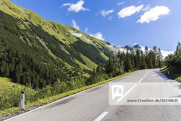 Österreich  Tirol  Bergpass zum Hahntennjoch